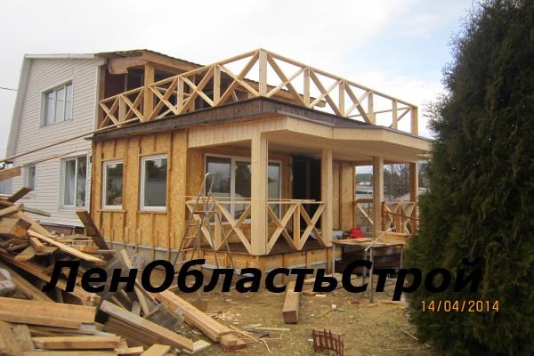 Монтаж балкона в доме - установка изготовление строительство.