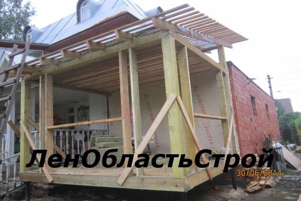 Пристройка к дому своими руками фундамент