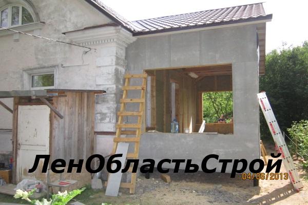 Реконструкция крыши деревянного дома