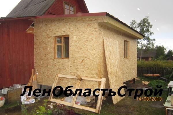 Фундамент пристройки к дому 191